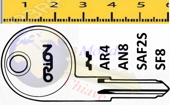 Alfa romeo giulia keychain 9